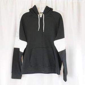 Hoodie Victoria Secret Black Gray White